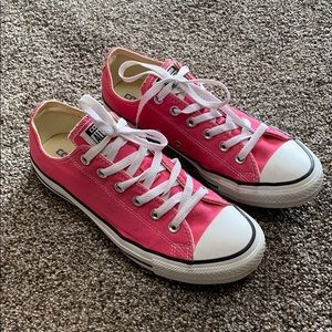 Pink Unisex Converse All Star Sneakers